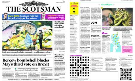 The Scotsman – March 19, 2019