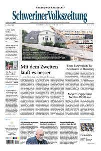 Schweriner Volkszeitung Hagenower Kreisblatt - 24. Mai 2018