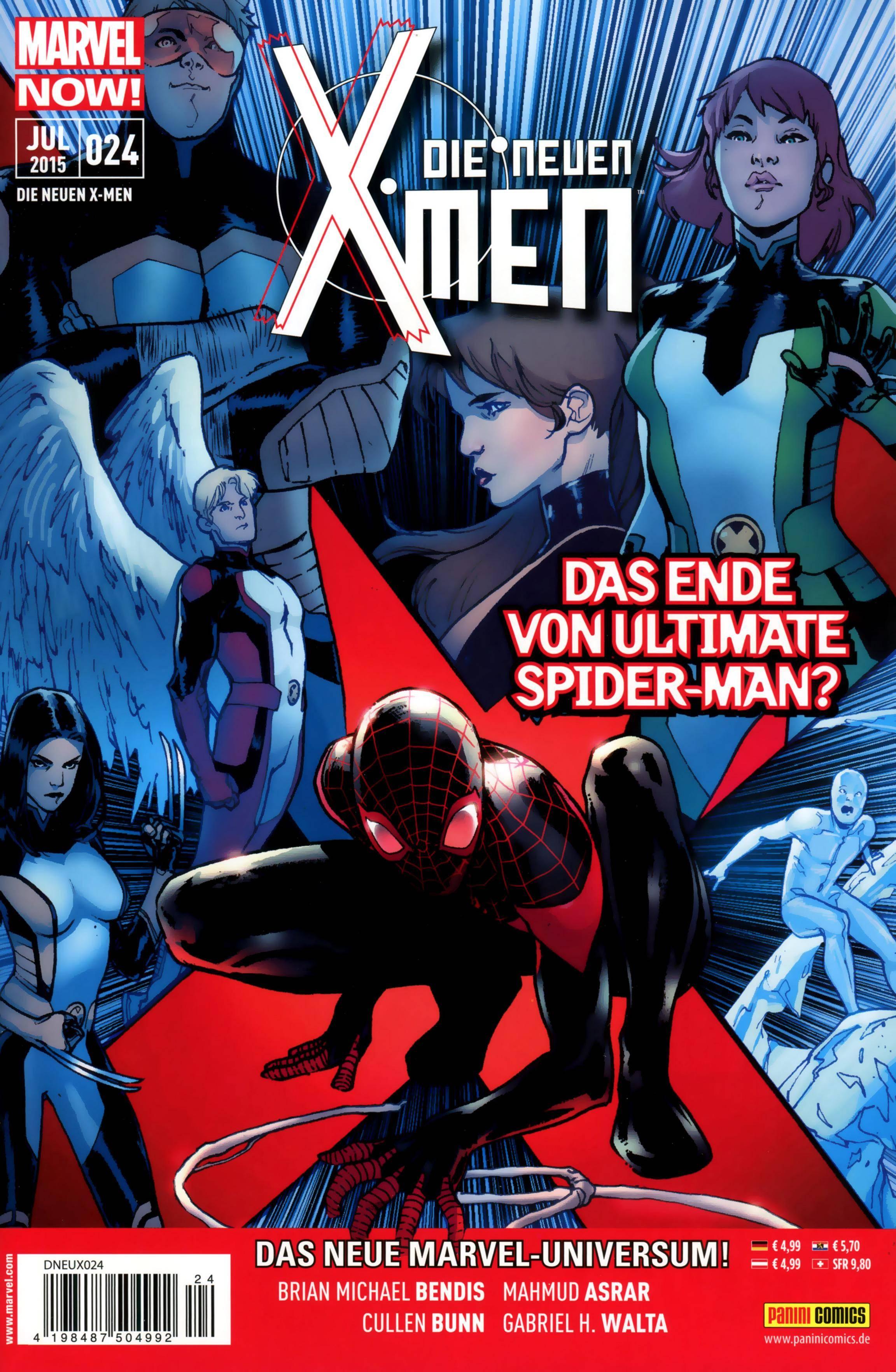 Die neuen X-Men 24 Panini 2015 Gurk The E