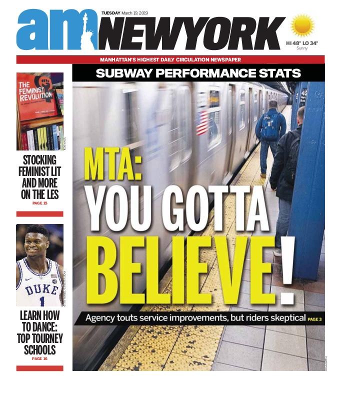 AM New York - March 19, 2019