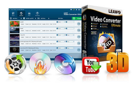 Leawo Video Converter Ultimate 8.1.0.0 Multilingual Portable