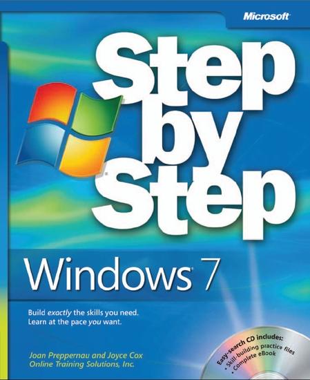 Windows 7 Step by Step Book (Repost)