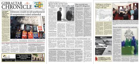 Gibraltar Chronicle – 18 September 2019