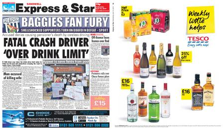 Express and Star Sandwell Edition – April 10, 2019