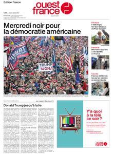 Ouest-France Édition France – 07 janvier 2021