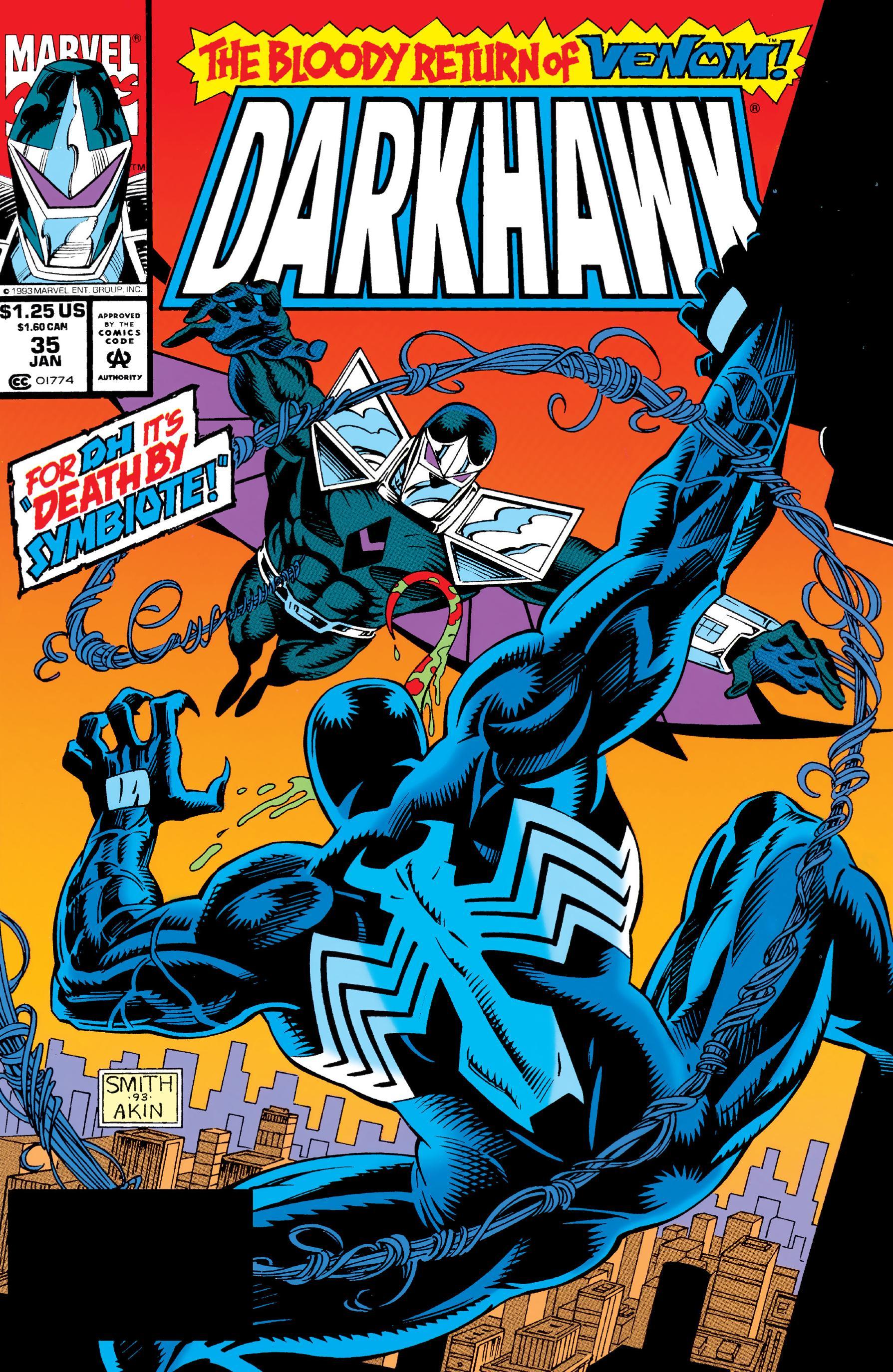 Darkhawk 035 1994 Digital Shadowcat