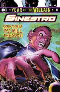 Sinestro-Year Of The Villain 01 2019