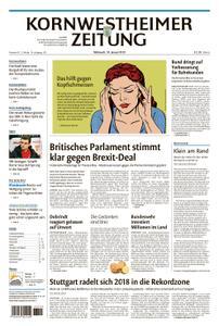 Kornwestheimer Zeitung - 16. Januar 2019
