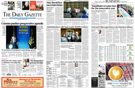 The Daily Gazette – January 16, 2019