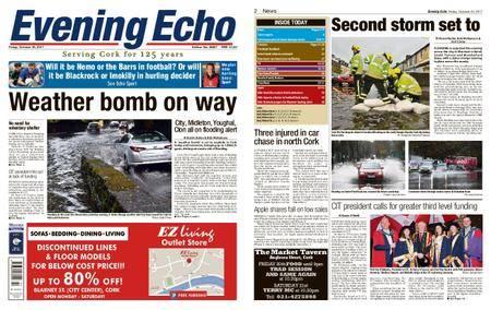 Evening Echo – October 20, 2017