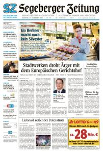 Segeberger Zeitung – 31. Dezember 2019