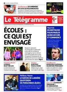 Le Télégramme Ouest Cornouaille – 22 avril 2020