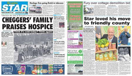 Shropshire Star Shrewsbury Edition – December 12, 2017