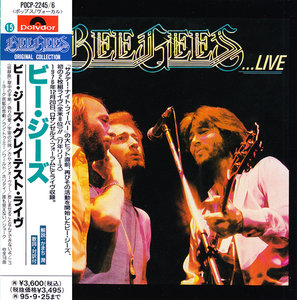 Bee Gees - Here At Last... Bee Gees... Live (1977) 2CD, Japanese Reissue 1993 [Re-Up]