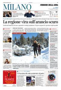 Corriere della Sera Milano – 11 gennaio 2021
