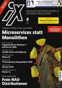 iX Magazin - April 2019