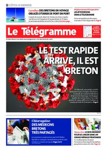 Le Télégramme Guingamp – 31 mars 2020