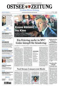 Ostsee Zeitung Wolgast - 13. Dezember 2017