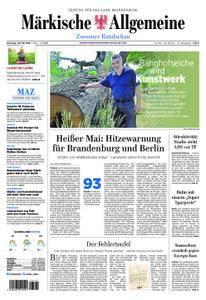 Märkische Allgemeine Zossener Rundschau - 29. Mai 2018