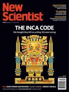 New Scientist - September 29, 2018