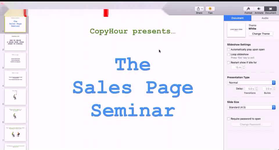 Derek Johanson and Ian Stanley - How To Write A Sales Page