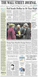 The Wall Street Journal Europe  December 16 2016