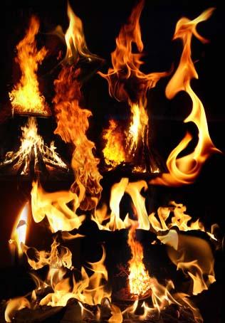Fire - PSD Template