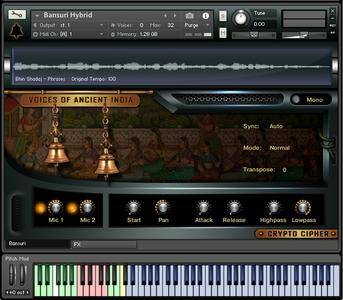 Crypto Cipher Voices Of Ancient India KONTAKT