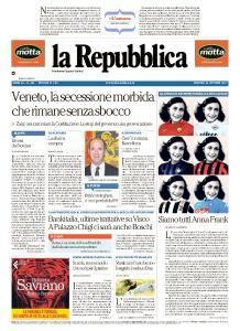la Repubblica - 24 Ottobre 2017