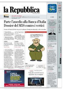 la Repubblica - 9 Febbraio 2019