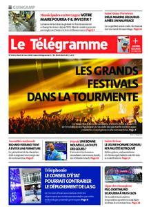 Le Télégramme Guingamp – 10 mars 2020