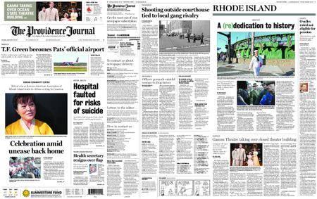 The Providence Journal – September 30, 2017