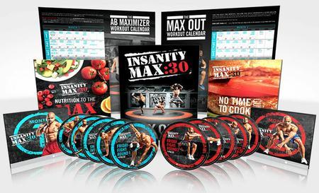 Beachbody - INSANITY: Max 30 Workout Full 10 DVD's [repost]