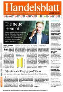 Handelsblatt - 05. Januar 2016