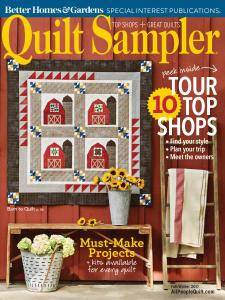 Quilt Sampler - Fall-Winter 2017