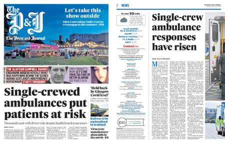 The Press and Journal Moray – March 18, 2021