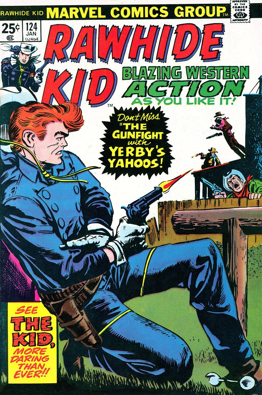Rawhide Kid v1 124 1975 Brigus
