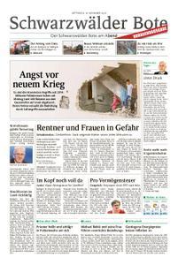 Schwarzwälder Bote Hechingen - 14. November 2018