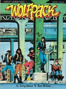 Marvel Graphic Novel 31 - Wolfpack 1987