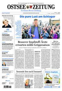 Ostsee Zeitung Wolgast - 01. Oktober 2018