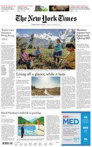 International New York Times - 27 November 2017
