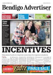 Bendigo Advertiser - September 5, 2019