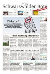 Schwarzwälder Bote Blumberg - 01. Juni 2018
