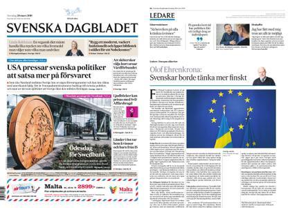 Svenska Dagbladet – 28 mars 2019