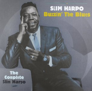 Slim Harpo - Buzzin' The Blues: The Complete Slim Harpo (2015) {5CD Box Set, Bear Family BCD 17339 EK}