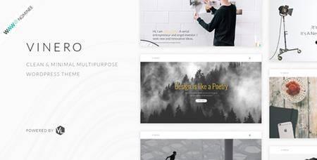 ThemeForest - Vinero v1.4 - Creative MultiPurpose WordPress Theme - 19322215