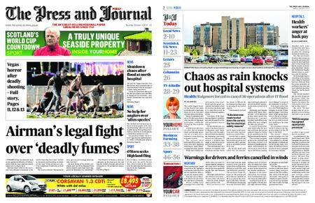 The Press and Journal Moray – October 03, 2017
