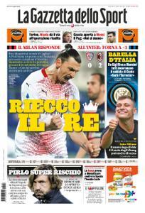 La Gazzetta dello Sport – 19 gennaio 2021