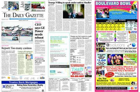The Daily Gazette – January 25, 2018