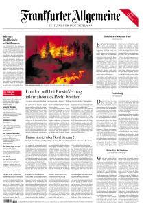Frankfurter Allgemeine Zeitung - 9 September 2020